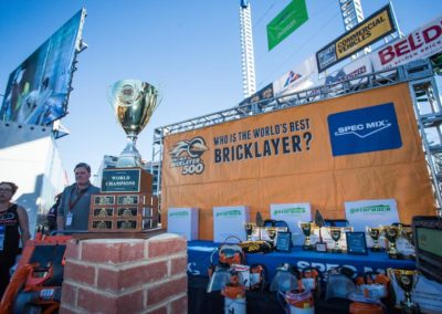 SPEC MIX BRICKLAYER 500 Sponsor, Quikrete